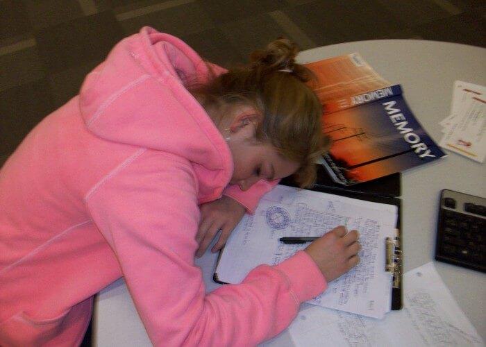 Sleeping-while-studying