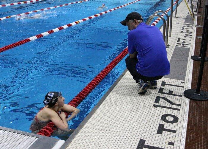 Brent Matheson CeraVe Invitational swim meet