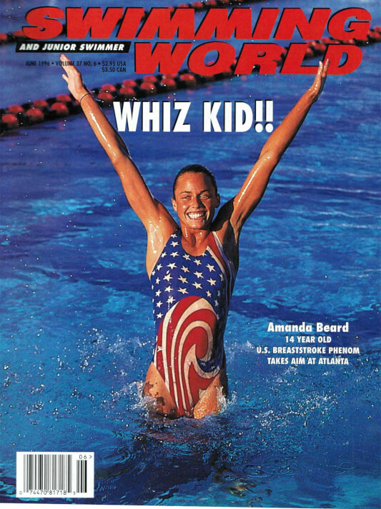 Swimming World Magazine June 1996 Issue- PDF ONLY - Cover