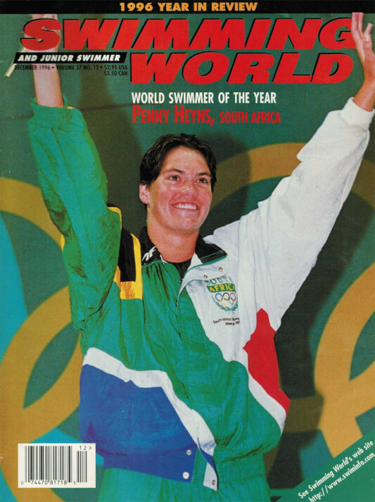Swimming World Magazine December 1996 Issue- PDF ONLY - Cover