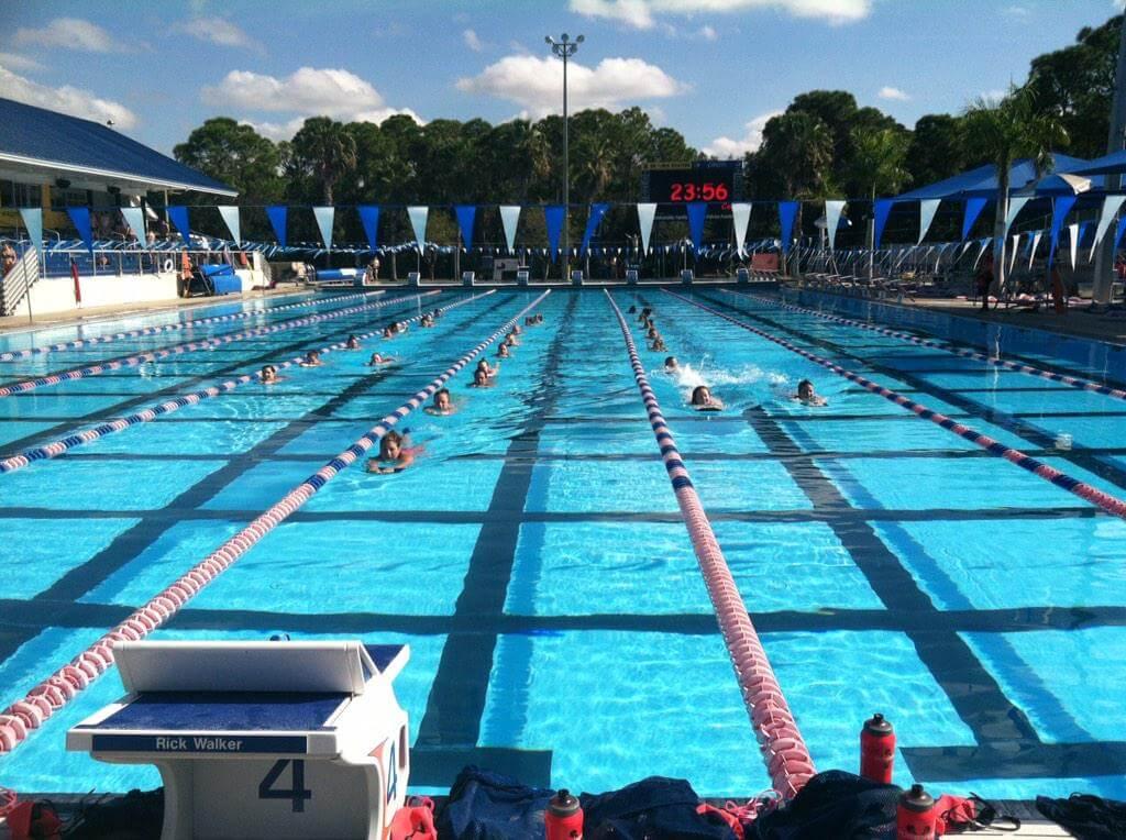 Swimming workout