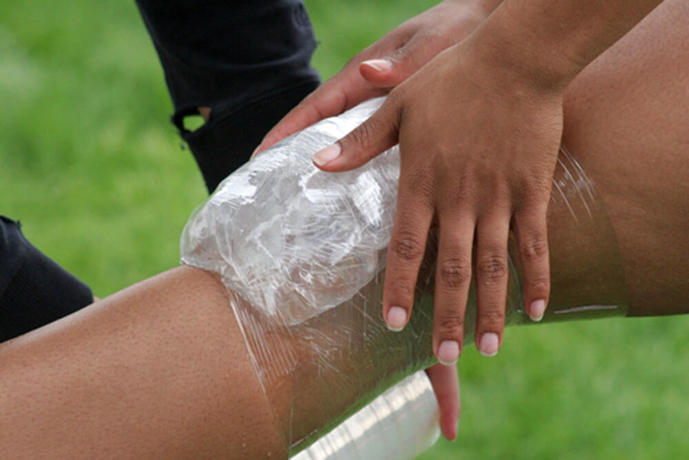 Icing for injuries