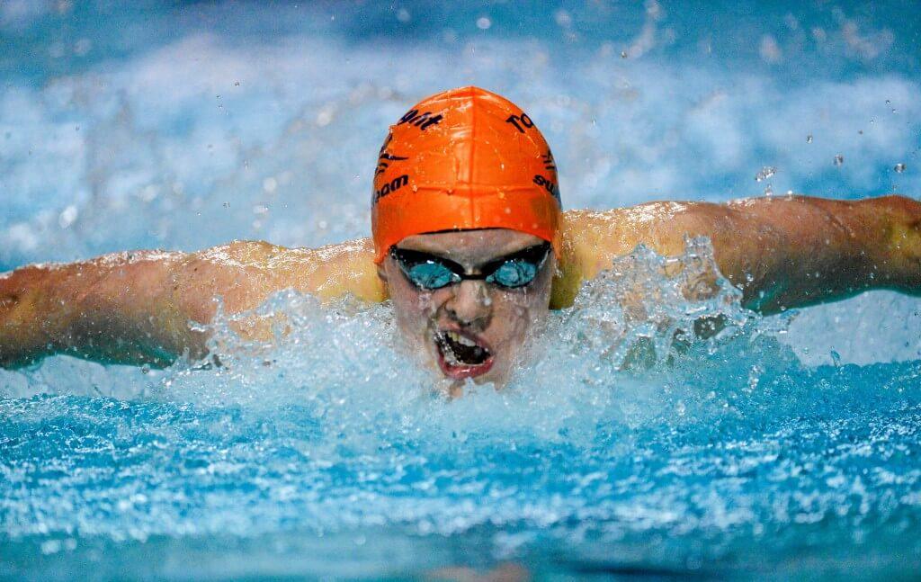 Brendan Hyland Irish Open swimming
