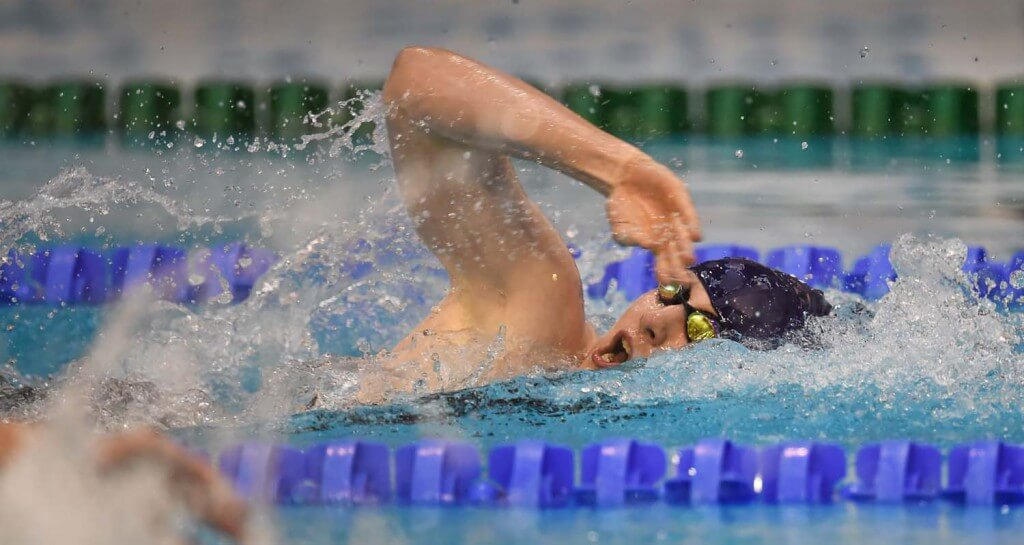 2 May 2015; Bethany Firth, Ards, competes in the final of the women's 100m final event during the 2015 Irish Open Swimming Championships at the National Aquatic Centre, Abbotstown, Dublin. Picture credit: Stephen McCarthy / SPORTSFILE