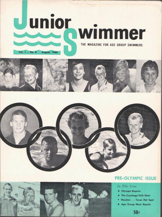 swimming-world-magazine-august-1960-cover
