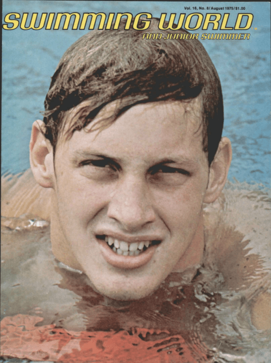 Swimming World Magazine August 1975 Issue- PDF ONLY - Cover