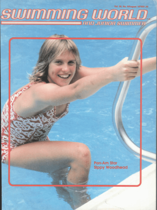 Swimming World Magazine August 1979 Issue- PDF ONLY - Cover