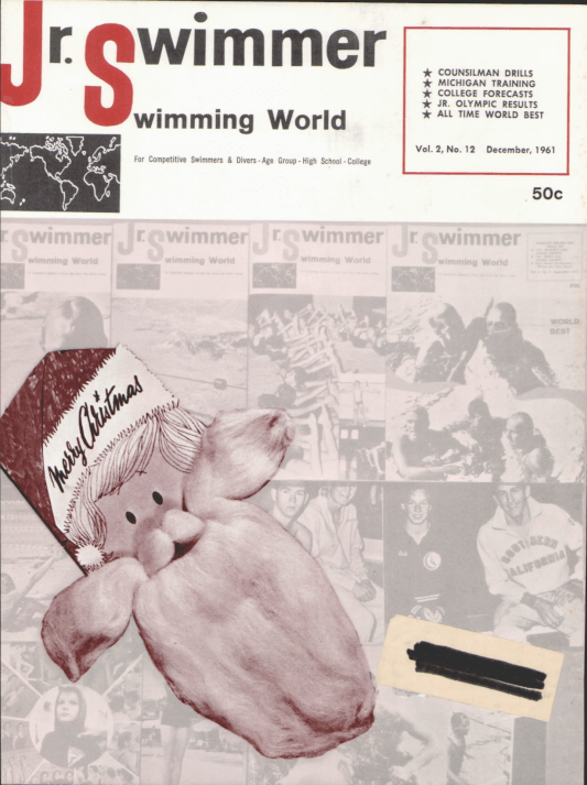 Swimming World Magazine December 1961 Issue- PDF ONLY - Cover
