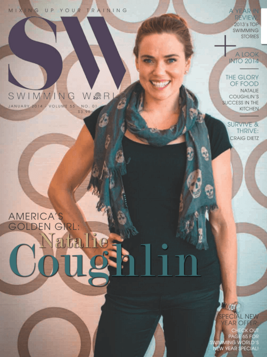 Swimming World Magazine January 2014 Issue- PDF ONLY - Cover