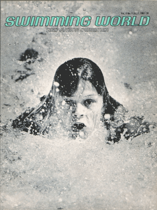 Swimming World Magazine July 1967 Issue- PDF ONLY - Cover