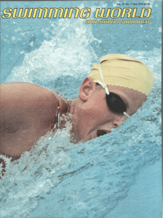 Swimming World Magazine July 1975 Issue- PDF ONLY - Cover