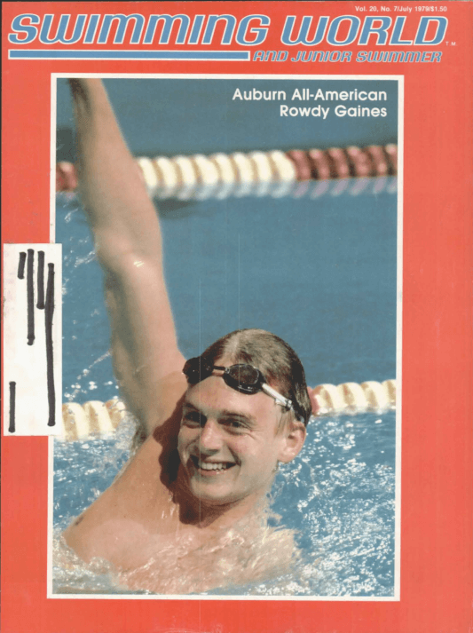 Swimming World Magazine July 1979 Issue- PDF ONLY - Cover