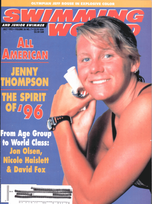 Swimming World Magazine July 1995 Issue- PDF ONLY - Cover