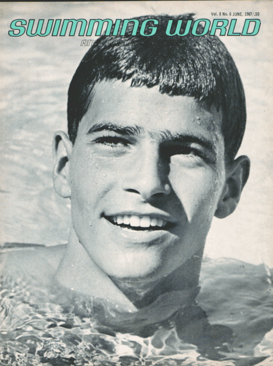 Swimming World Magazine June 1967 Issue- PDF ONLY - Cover