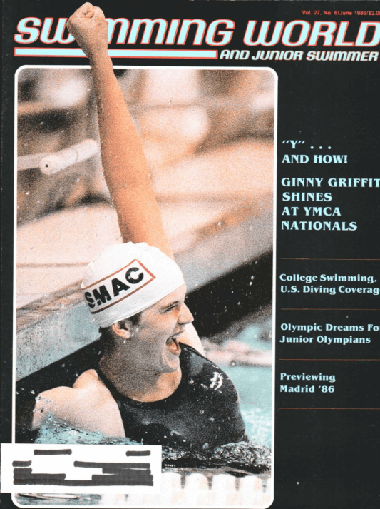 Swimming World Magazine June 1986 Issue- PDF ONLY - Cover
