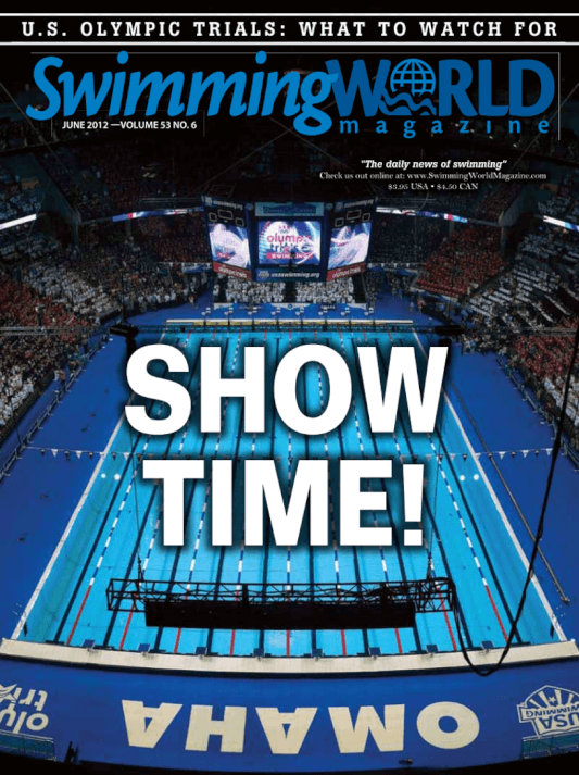 Swimming World Magazine June 2012 Issue- PDF ONLY - Cover