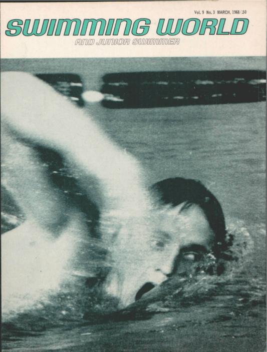 swimming-world-magazine-march-1968-cover