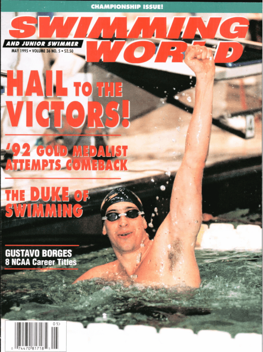 Swimming World Magazine May 1995 Issue- PDF ONLY - Cover