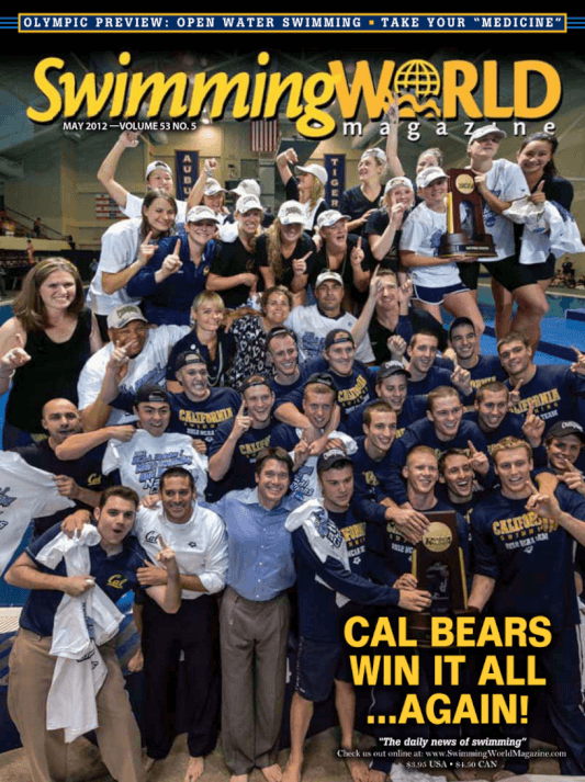 Swimming World Magazine May 2012 Issue- PDF ONLY - Cover