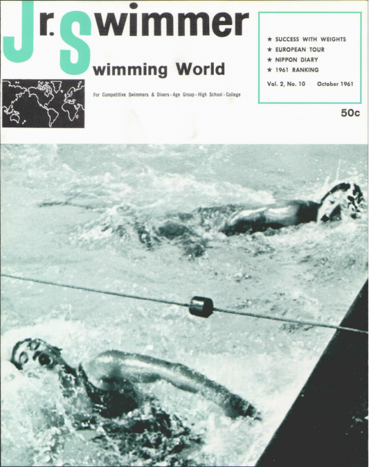 swimming-world-magazine-october-1961-cover