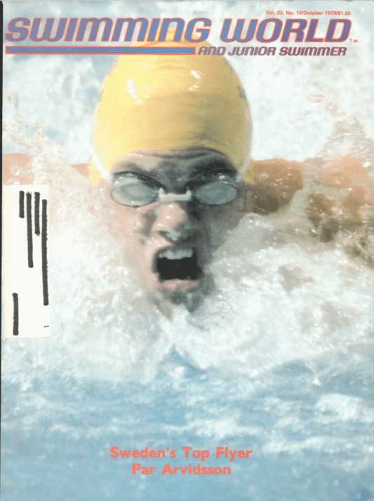 Swimming World Magazine October 1979 Issue- PDF ONLY - Cover