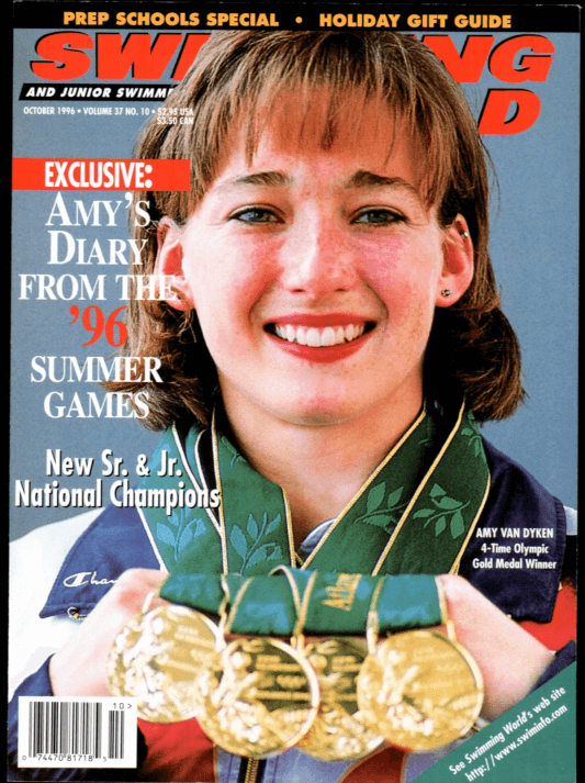 Swimming World Magazine October 1996 Issue- PDF ONLY - Cover