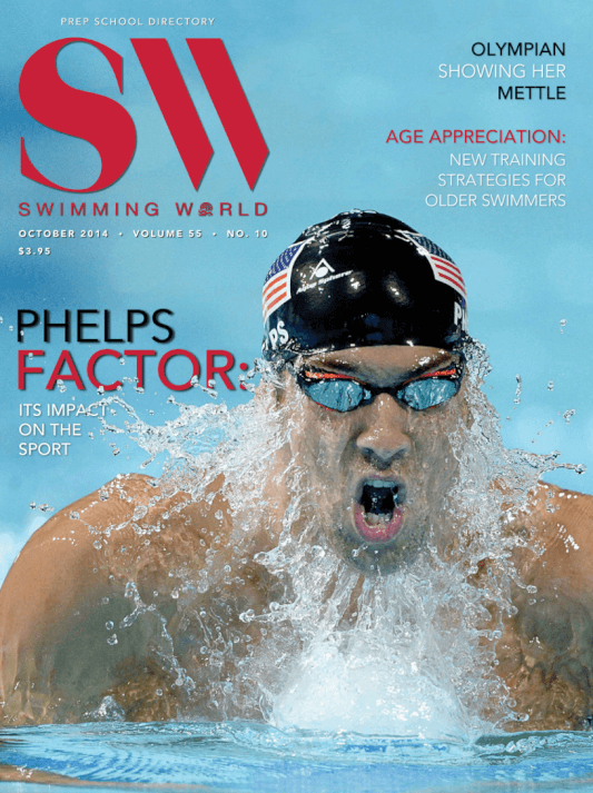 Swimming World Magazine October 2014 Issue- PDF ONLY - Cover