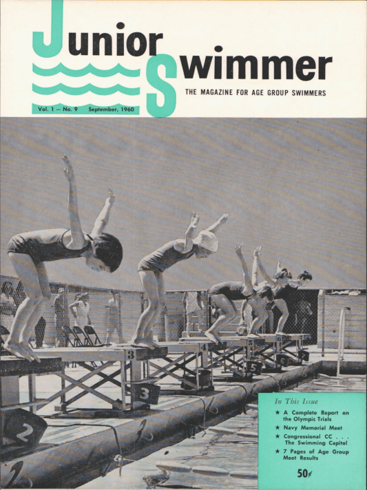 swimming-world-magazine-september-1960-cover