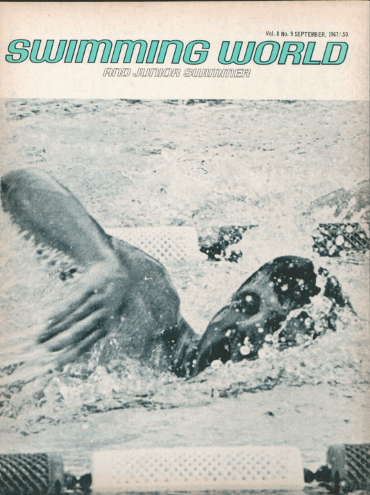 Swimming World Magazine September 1967 Issue- PDF ONLY - Cover