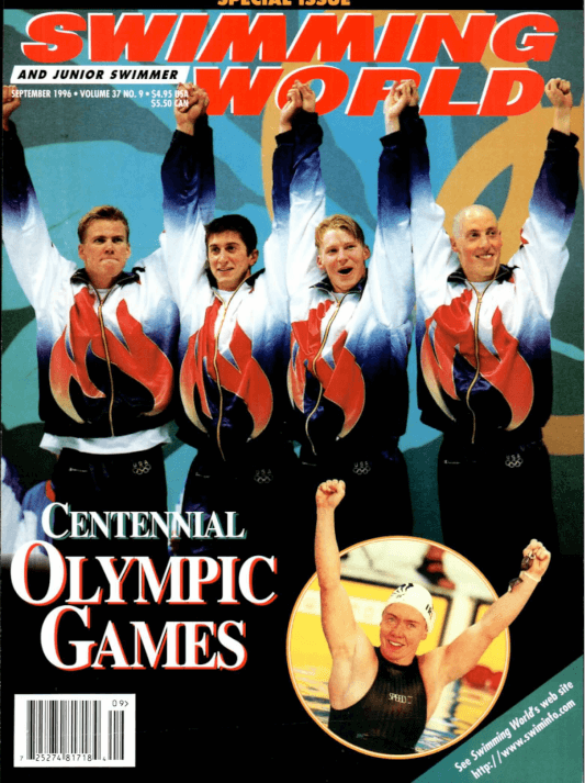 Swimming World Magazine September 1996 Issue- PDF ONLY - Cover