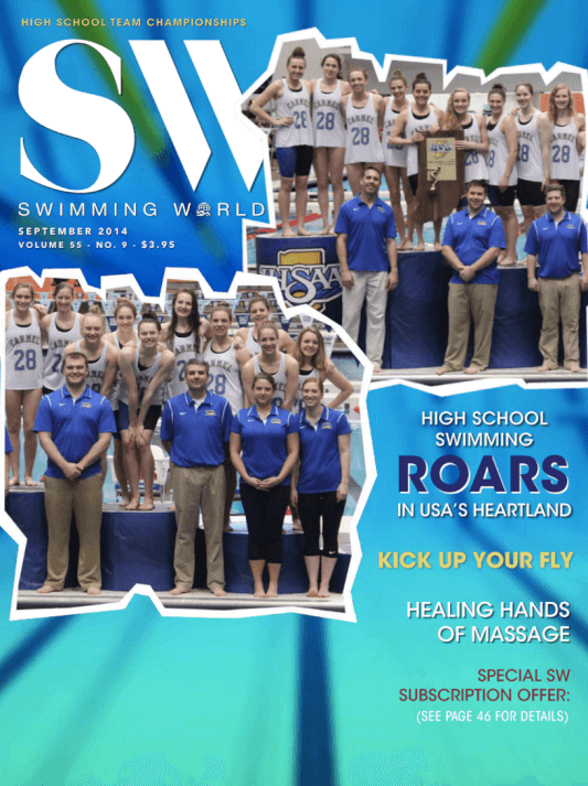 Swimming World Magazine September 2014 Issue- PDF ONLY - Cover