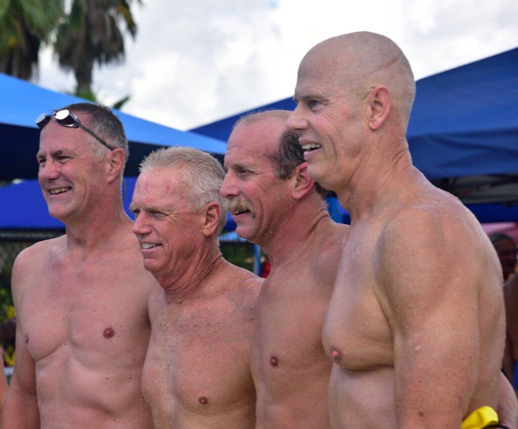 Sarasota YMCA Masters relay 2015