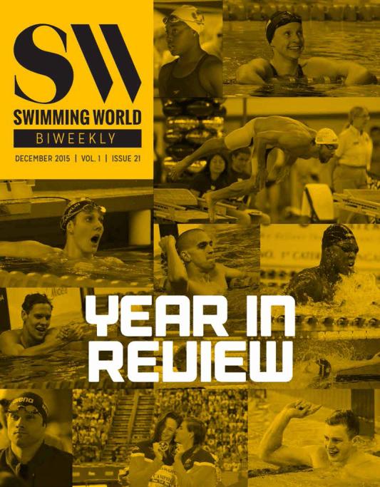 Swimming World Biweekly Cover