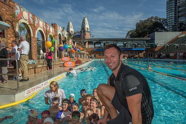 ian-thorpe-optus-junior-dolphins-launch-australia