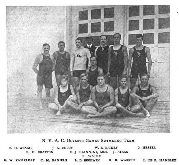 1904_NYAC_Olympic_Swim_Team