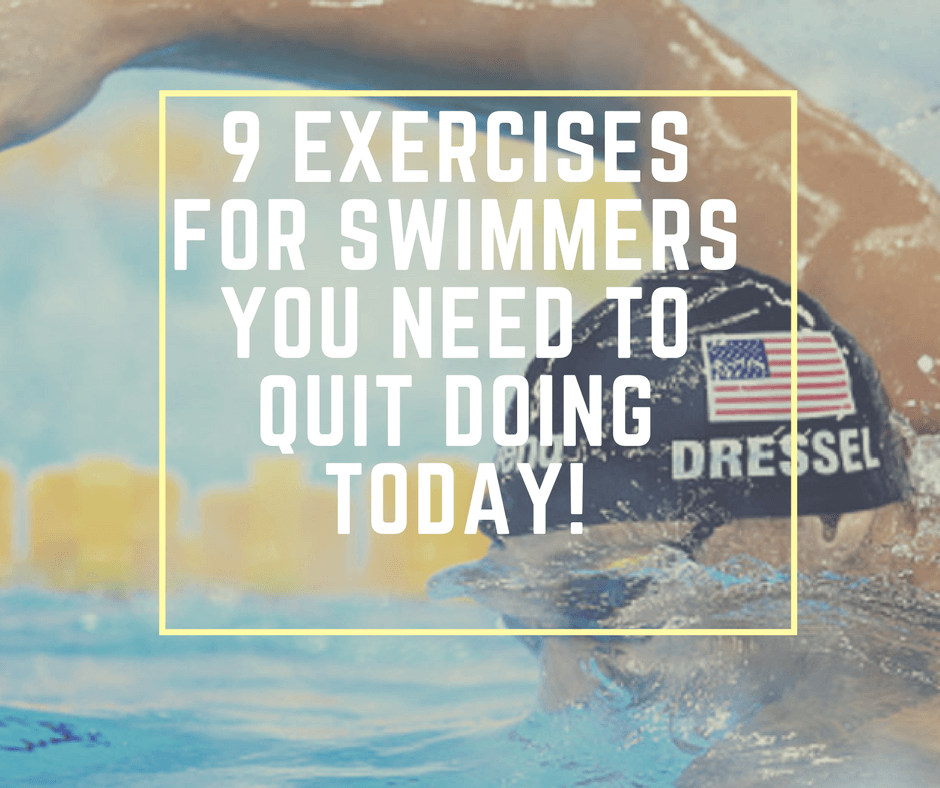 9 exercises for swimmers