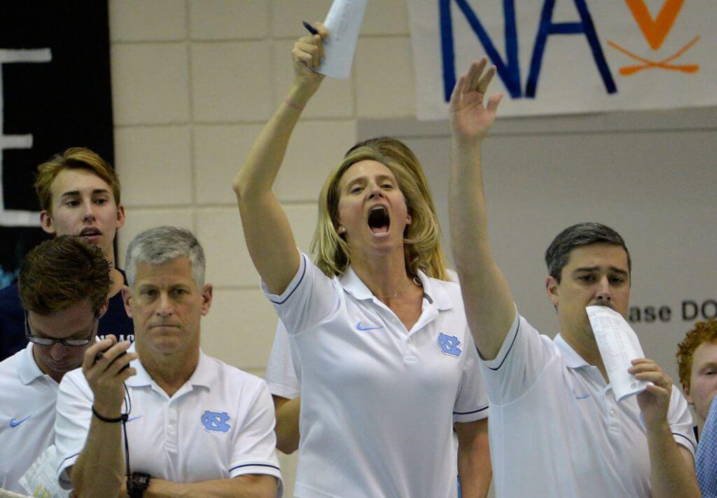 acc swimming, university of north carolina swimming