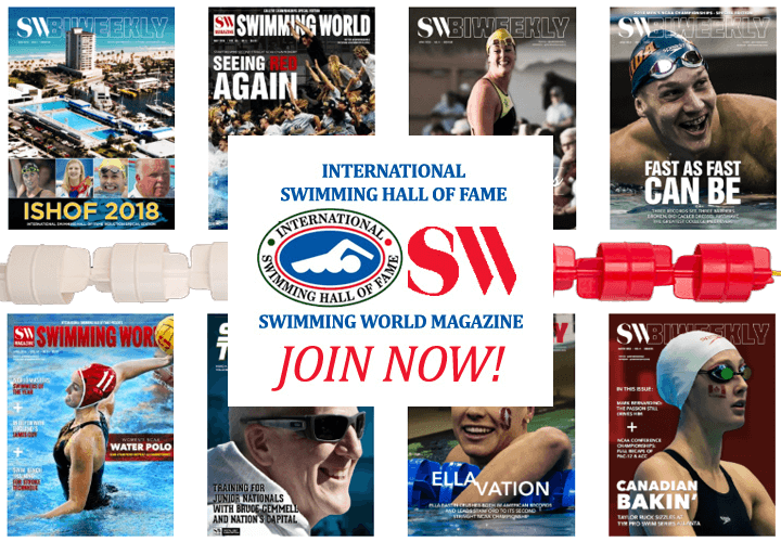 Become an Individual Member of the International Swimming Hall of Fame!