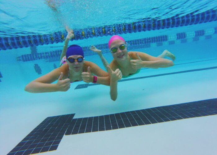 swimmers- smiling