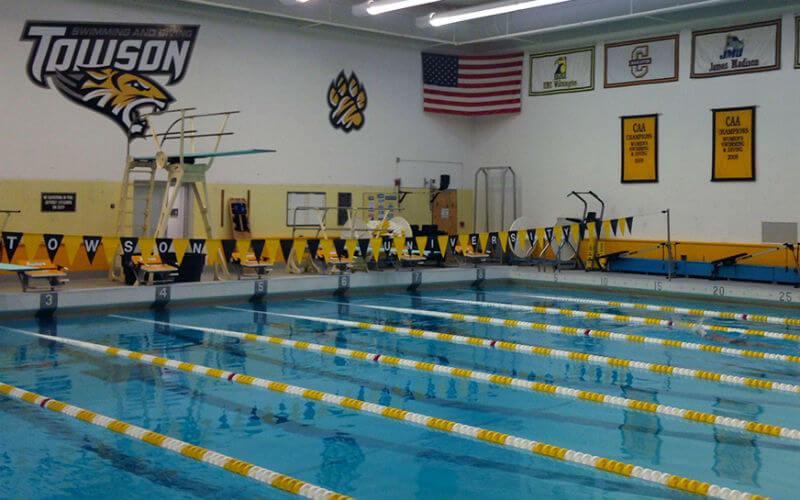 towson tigers pool