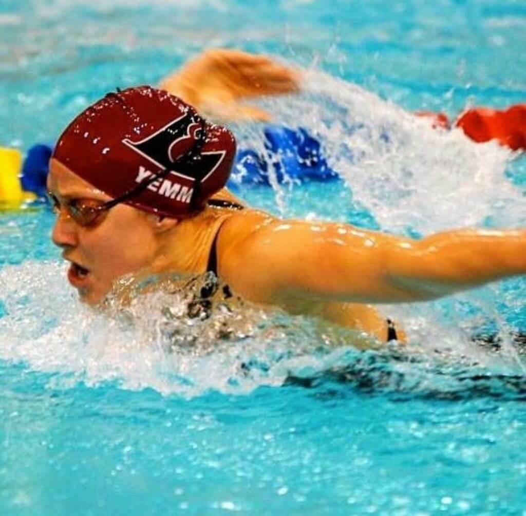 Allie Yemm Swimming