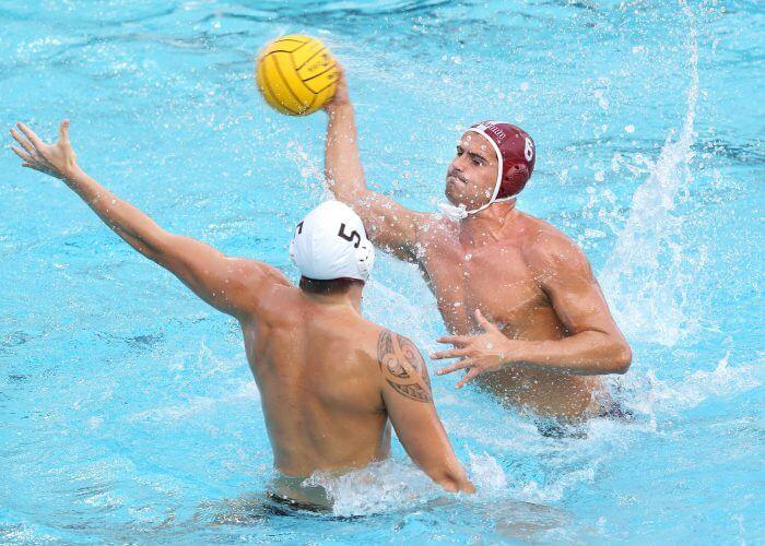 Stanford, CA; December 2, 2018; Men's Water Polo, Stanford vs USC.