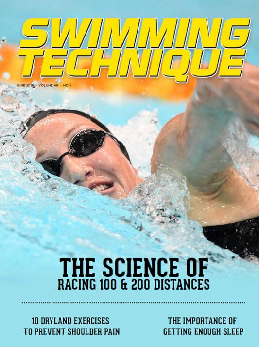 Swimming Technique June 2019 Issue - Cover