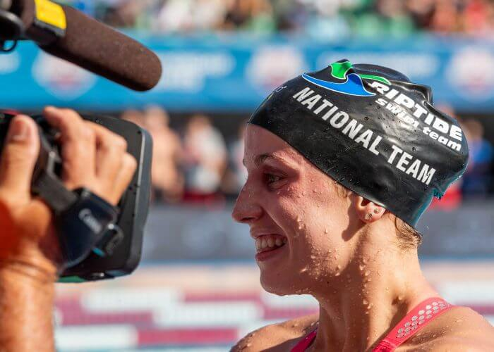 regan-smith, best women's swimmers