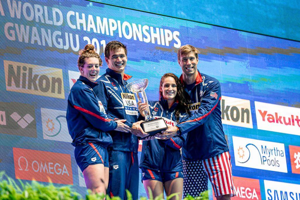 allison schmitt, nathan adrian, leah smith, matt grevers, best-swimming-team-2019-world-championships_3