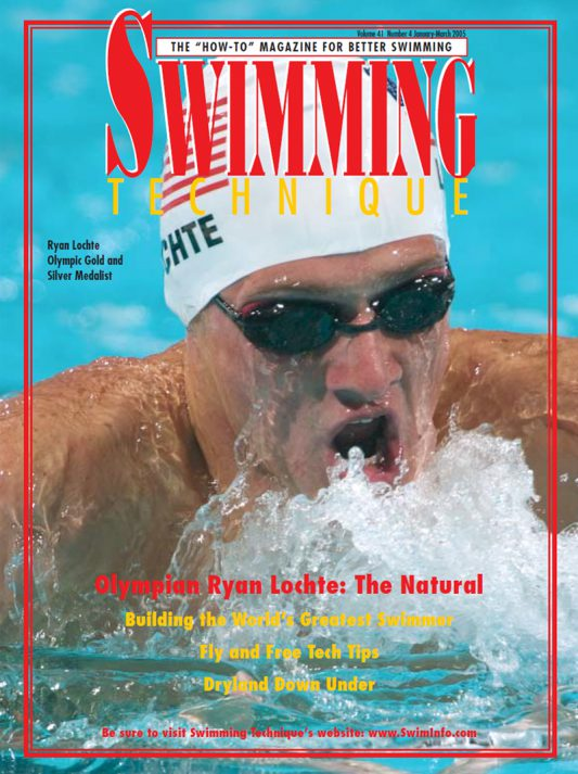 ST200501 Swimming Technique January 2005 Cover