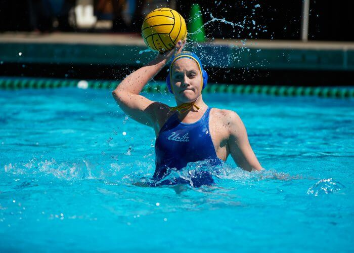 UCLA Athletics - UCLA Women's Water Polo versus the Stanford Cardinal, 2017 MPSF Championship game, Spieker Aquatic Center, UCLA, Los Angeles, CA. April 30th, 2017 Copyright Don Liebig/ASUCLA 170430_WWP_093.NEF