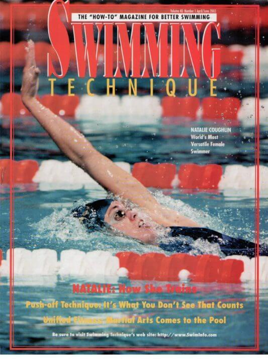 ST200303 Swimming Technique April - June 2003 Cover