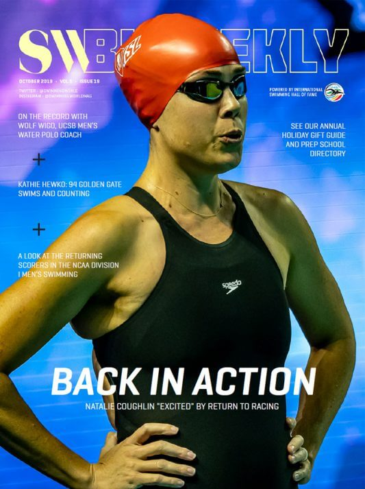SW Biweekly 10-7-19 Cover Natalie Coughlin 800x1070