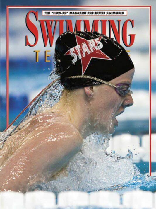 Swimming Technique January - December 2010 Cover